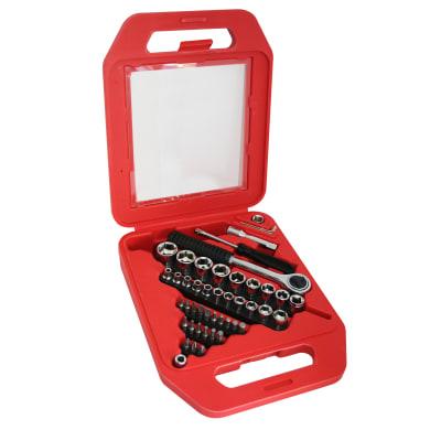 Set di chiavi e bussole , 47 pezzi