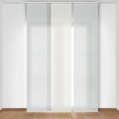 Pannello giapponese INSPIRE Screen grigio 60x300 cm