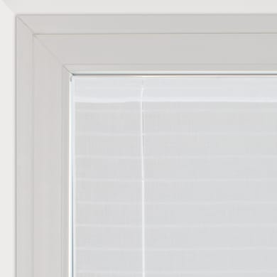 Tendina vetro Klimt bianco tunnel 58 x 160 cm