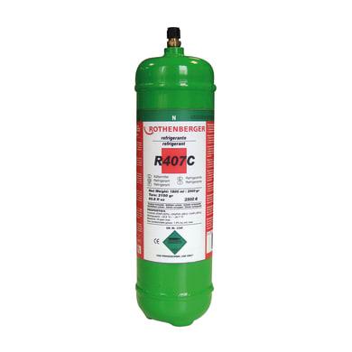 Bombola gas refrigerante climatizzatore R407C 2 L 3.8 kg
