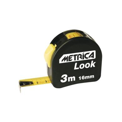 Flessometro pieghevole METRICA Look plastica 3 m