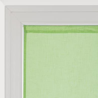 Tendina vetro Lina verde tunnel 60 x 240 cm