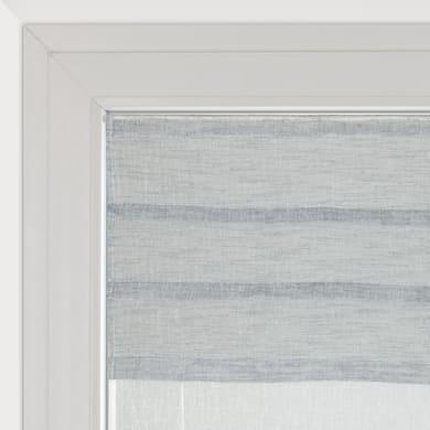 Tendina vetro Malesia grigio tunnel 60 x 150 cm