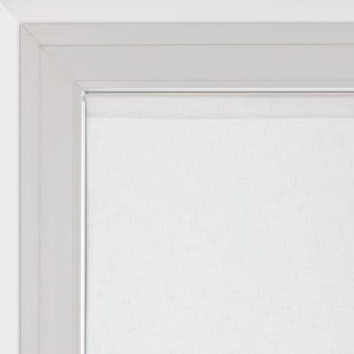 Tendina vetro Manuela naturale tunnel 90 x 160 cm