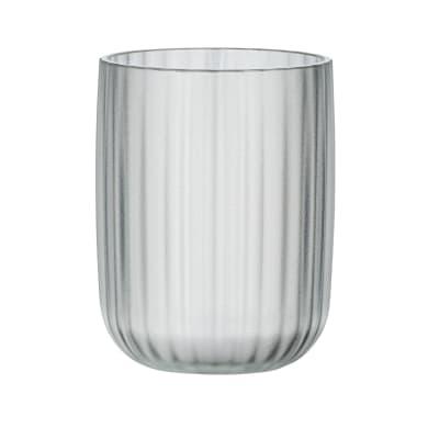 Bicchiere porta spazzolini Agropoli in plastica bianco
