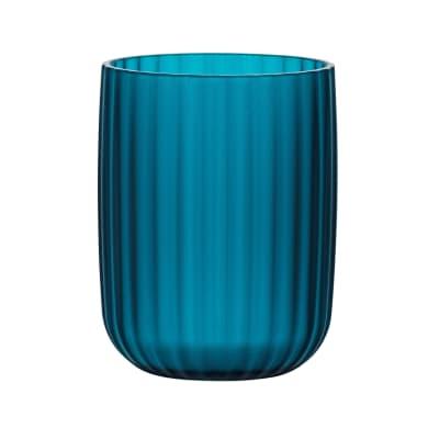 Bicchiere porta spazzolini Agropoli in plastica petrolio
