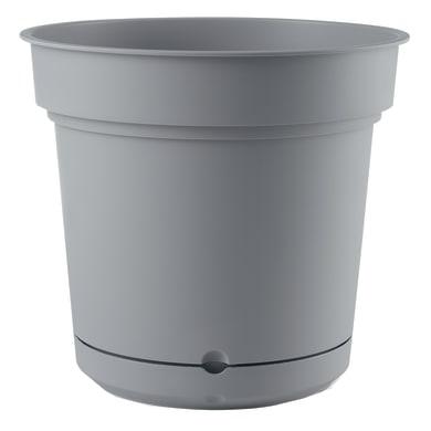 Vaso in plastica colore grigio H 55 cm, Ø 68 cm