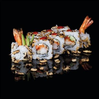 Quadro in vetro Sushi 20x20 cm