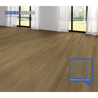 Pavimento SPC flottante clic+ Modern Oakmedi Sp 5.2 mm beige