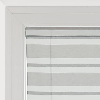 Tendina vetro Peggy grigio tunnel 58 x 175 cm