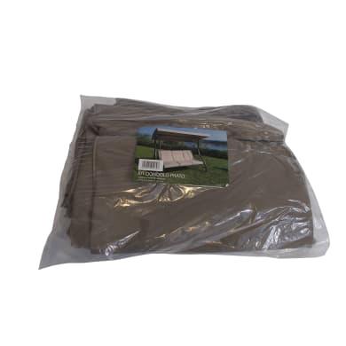 Cuscino da esterno PRATO marrone nocciola Sp 1 cm