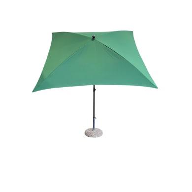 Ombrellone da giardino L 2.15 x P 2.15 m color verde