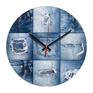 Orologio Jeans 34x34 cm