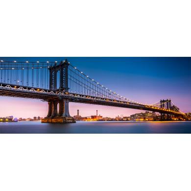 Quadro in vetro Bridge 50x125 cm