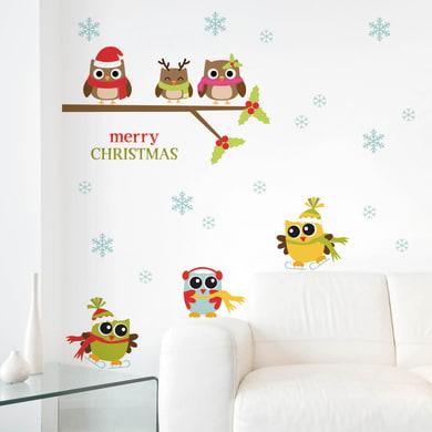 Sticker Merry christmas 22.5x67 cm