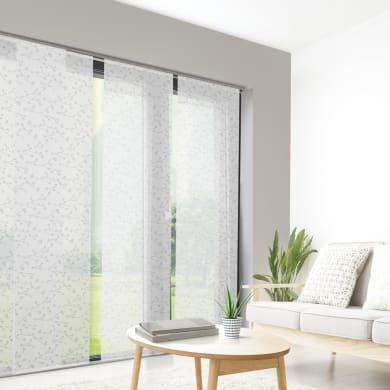 Pannello giapponese INSPIRE resinato Gemme bianco 60x300 cm