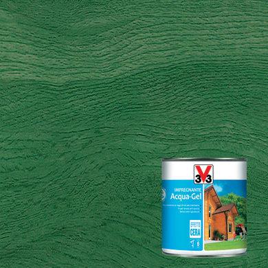 Impregnante a base acqua V33 Acqua-Gel verde 0.75 L