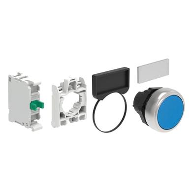 Pulsante LOVATO LPCB106V305 blu