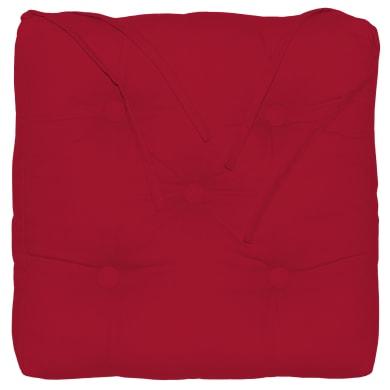 Cuscino per sedia Elema rosso 40x5 cm