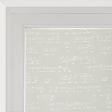 Tendina vetro Spartito ecrù tunnel 90 x 240 cm