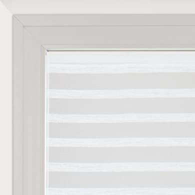 Tendina vetro Utopia bianco tunnel 60 x 160 cm