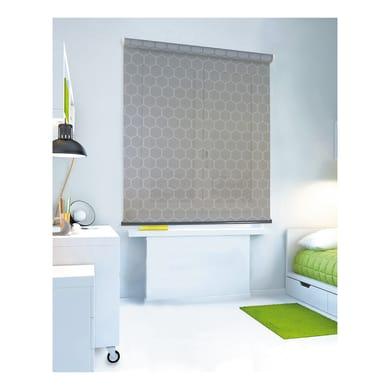 Tenda a rullo filtrante Geometrik grigio 90 x 250 cm
