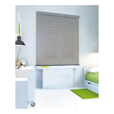 Tenda a rullo filtrante Geometrik grigio 45 x 250 cm