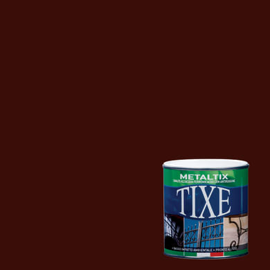 Smalto antiruggine TIXE Metaltix marrone 0.5 L