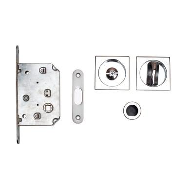 Maniglia per porta scorrevole quadrato in zama