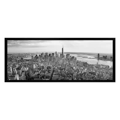 Stampa incorniciata Vista New York 20x50 cm