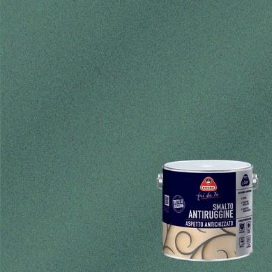 Smalto antiruggine BOERO FAI DA TE grigio grana grossa 2 L