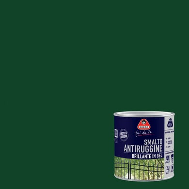 Smalto antiruggine BOERO FAI DA TE verde impero 0.5 L