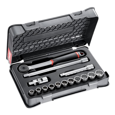 Set di chiavi e bussole USAG , 19 pezzi