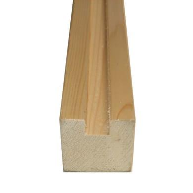 Profilo per sottotetto in abete naturale 3 m x 180 mm, Sp 120 mm