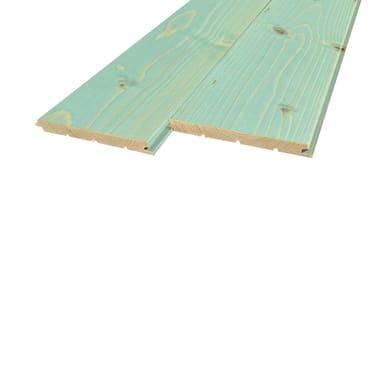 Perlina legno verniciato anice 1° scelta L 200 x H 12 cm Sp 12 mm