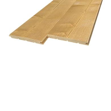 Perlina legno verniciato miele 1° scelta L 200 x H 12 cm Sp 12 mm