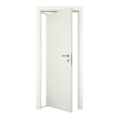 Porta rototraslante Mood bianco laccato L 80 x H 210 cm sinistra