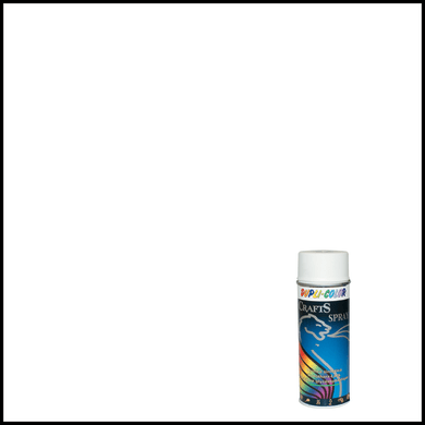 Smalto spray Craft bianco lucido 0.0075 L