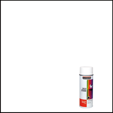 Smalto spray LUXENS Deco bianco lucido 0.0075 L