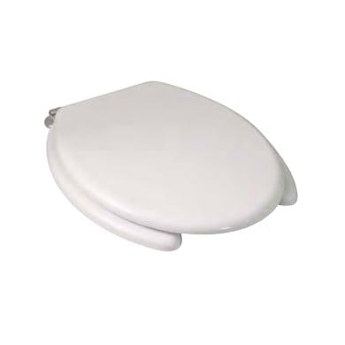 Copriwater ovale Dedicato per serie sanitari Copriwater per disabili termoindurente bianco