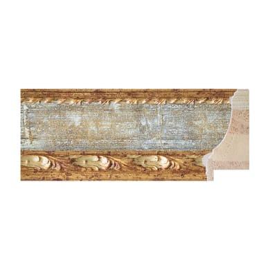 Asta per cornice Rovesciata oro e avorio 6.9 cm