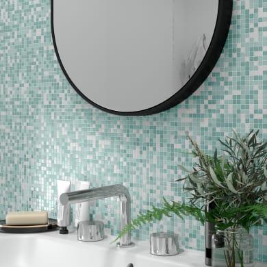 Mosaico Candy Mix Blue Glossy & Mat H 30 x L 30 cm multicolore