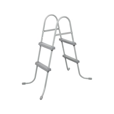 Scaletta per piscina fuori terra in acciaio Bestway 4 gradini 116 cm