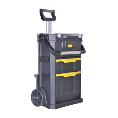 Carrello STANLEY Rolling Workshop 2in1 in polipropilene