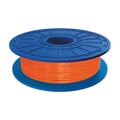 Bobina di filamento pla per stampante 3D D04 arancione 162 m