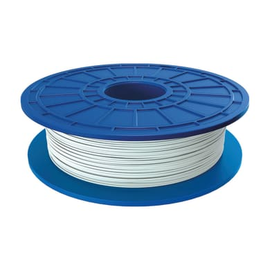 Bobina di filamento pla per stampante 3D D01 bianco 162 m