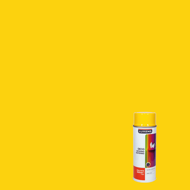 Smalto spray LUXENS Deco giallo traffico lucido 0.0075 L