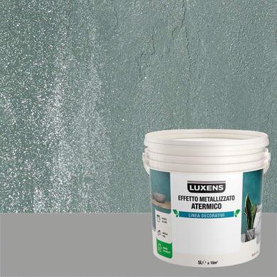 Pittura decorativa LUXENS EFFETTO METALLIZZATO ATERMICO 5 l giada verde effetto metallo