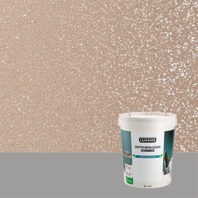 Pittura decorativa LUXENS EFFETTO METALLIZZATO ATERMICO 1 l topazio terra effetto metallo