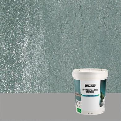 Pittura decorativa LUXENS EFFETTO METALLIZZATO ATERMICO 1 l giada verde effetto metallo